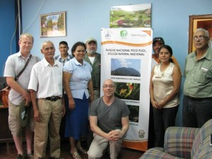 Meeting with Honduran Forest Service, Cooperative COMISUYL, Merchants of Green Coffee, and MDI