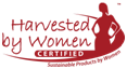 harvested by women