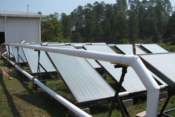 Solar Collector Arrays in Subirana, Yoro, Honduras